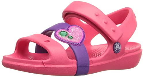 973726d92daf Crocs Keeley Springtime Sandal PS Girls Sandals  Shoes  202614-6MN-C9  Buy  Online at Low Prices in India - Amazon.in