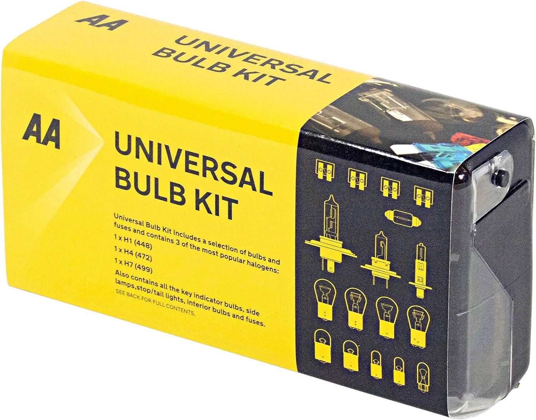AA Kit de bombilla universal