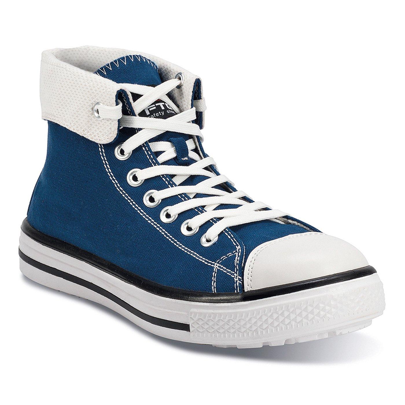 FTG Sicherheitsschuhe Music Blaus High S1P Blau SRC, Sicherheitsstiefel Sneaker blau Blau S1P a6c907
