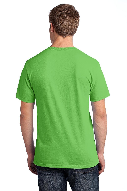 Kiwi Green Fruit of the Loom 5 oz XL 100/% Heavy Cotton HD T-Shirt 3931