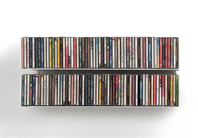11 opinioni per TEEbooks–Mensola da parete u, Acciaio inossidabile, Rosso, 60x 15x 15cm