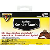 Revenge Rodent Smoke Bombs (8-pack) Kills Rats Moles Skunks Gophers Woodchucks Not Sale To: CA, AK
