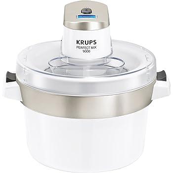 Eismaschinen werden unter anderem von Krups angeboten.