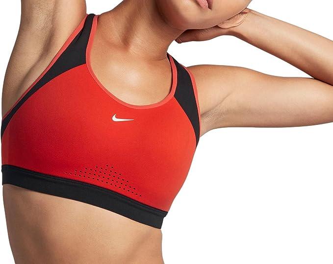 Nike Motion Adapt Bra - Sujetador Deportivo, Mujer: Amazon.es: Deportes y aire libre
