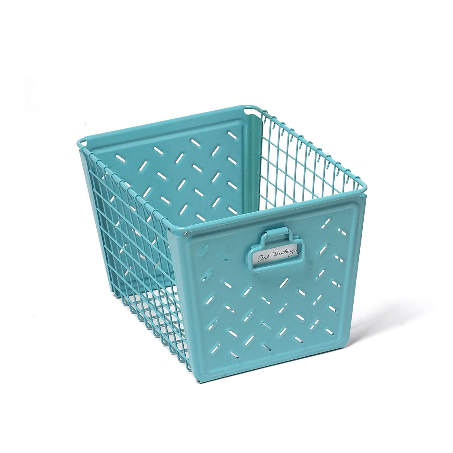 Amazon.com: Spectrum Diversified Macklin Medium Storage Basket, Teal: Home  U0026 Kitchen