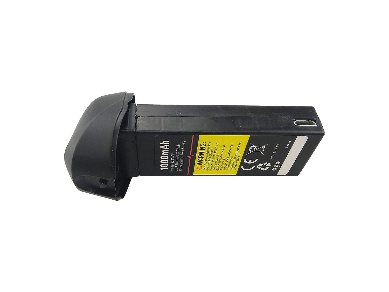 Fytoo 2PCS 3.7V 1000mAH Lipo Batería para UDIRC U47 HD WiFi ...