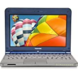 Toshiba Mini NB205-N312/BL 10.1-Inch Royal Blue Netbook - 9 Hour Battery Life