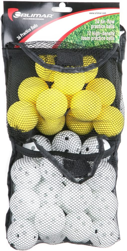 Orlimar Golf 36 Practice Balls