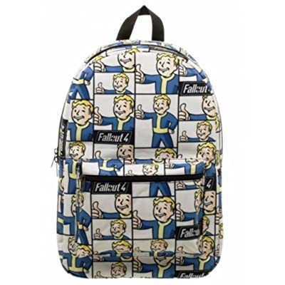 Fallout 4 Pip Boy All Over Print Logo Backpack