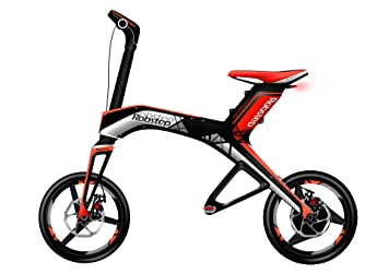 Robstep X1 Scooter Eléctrico (Rojo)