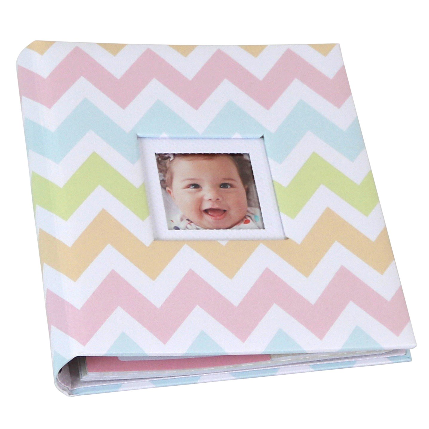 Hallmark Chevrons Girl 5 Year Memory Album 1BBA7032