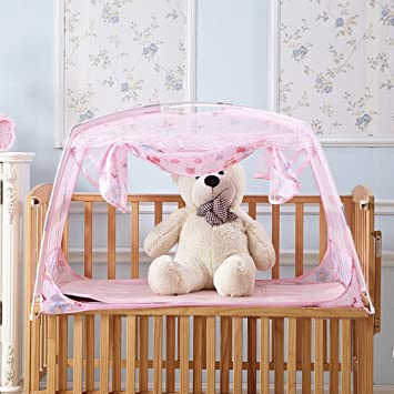 RuiHome Baby Crib Tent Safety Net Portable Summer Beach Playpen for Toddler (32x51x28u201d & Amazon.com : RuiHome Baby Crib Tent Safety Net Portable Summer ...