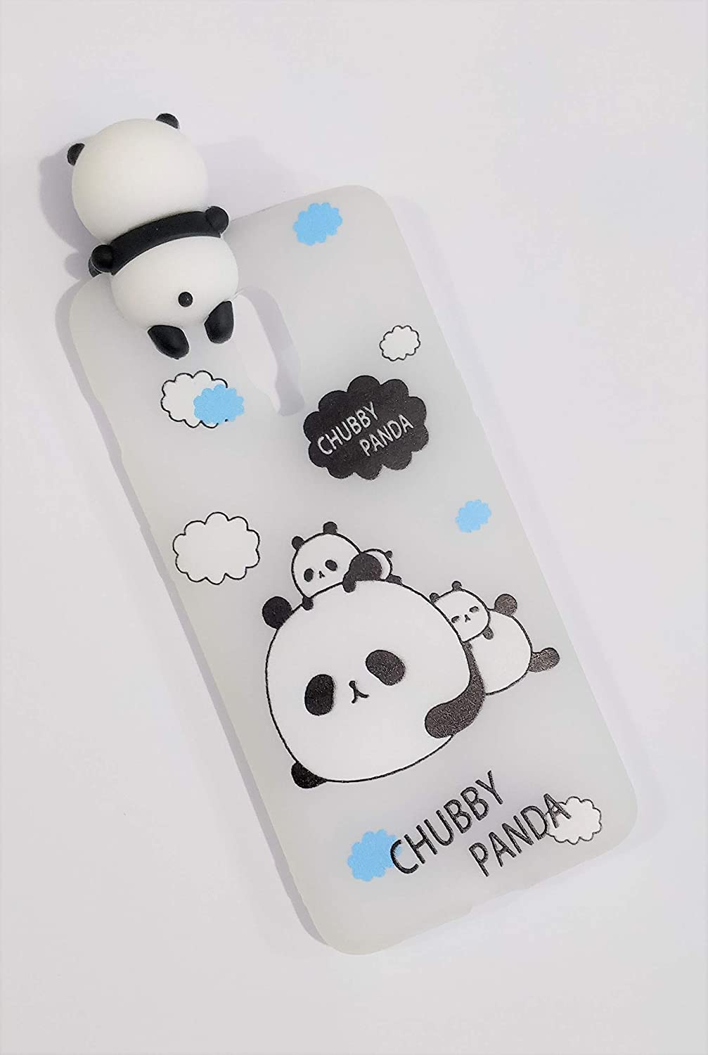 4a961a2d2c Radha Cute Soft Silicone Chubby Panda Back Cover for: Amazon.in: Electronics