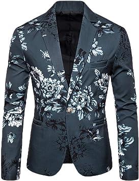 Amazon.com: Fauean - Blazer para hombre, elegante, informal ...