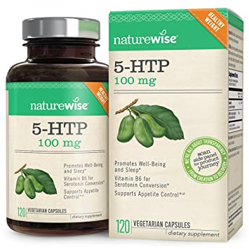 NatureWise 5-HTP 100 mg, Supports Appetite Suppression, Weight Loss, Mood  Enhancement