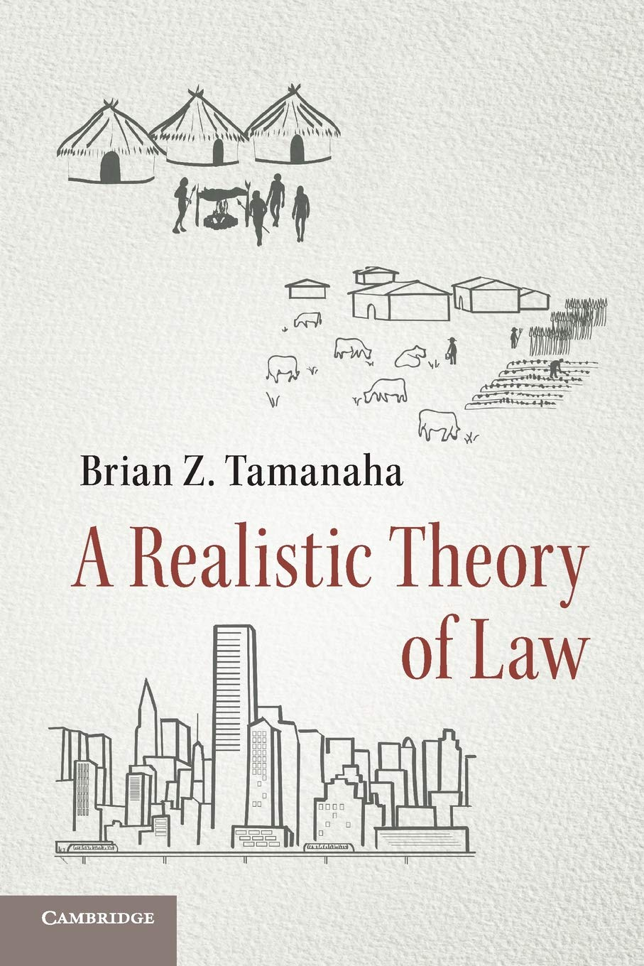 a realistic theory of law brian z tamanaha 9781316638514 amazon