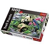 Trefl - 10257 - Puzzle - Panda - 1000 Pièces