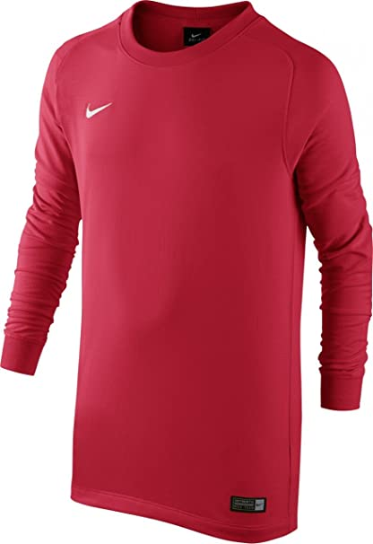 203b736f6 Amazon.com   Nike Youth Long Sleeve Park Goalie II Jersey Red ...