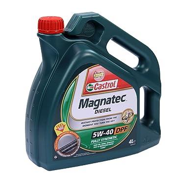 4 l de aceite de motor Castrol Magnatec Diesel para DPF de 5-40 W: Amazon.es: Coche y moto