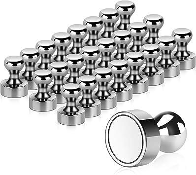 8 Stück Magnete Edelstahl schöne Magneten Kühlschrank Büro Pinnwand Magnet