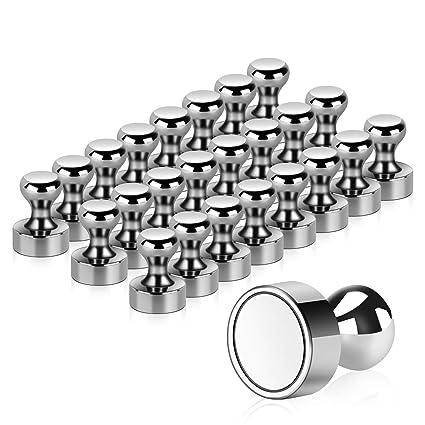 B/üro Schr/änke Pinnwand Whiteboards DECARETA 24 St/ück K/ühlschrankmagnete Dekorative Magnete K/ühlschrank 3D Glas 30mm Magneten Magnettafel Mandala Muster Stark Magnetisch Deko f/ür K/ühlschrank