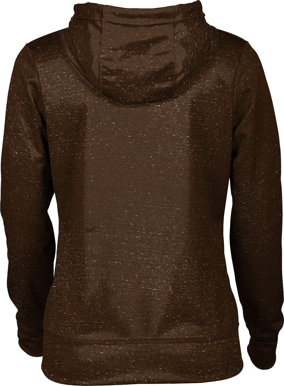 ProSphere Brown University Girls Zipper Hoodie School Spirit Sweatshirt Heathered