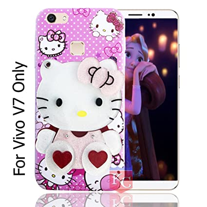 bfed5e3eff KC Hidden Mirror Kitten Doll Girl Red Hearts Case with: Amazon.in:  Electronics