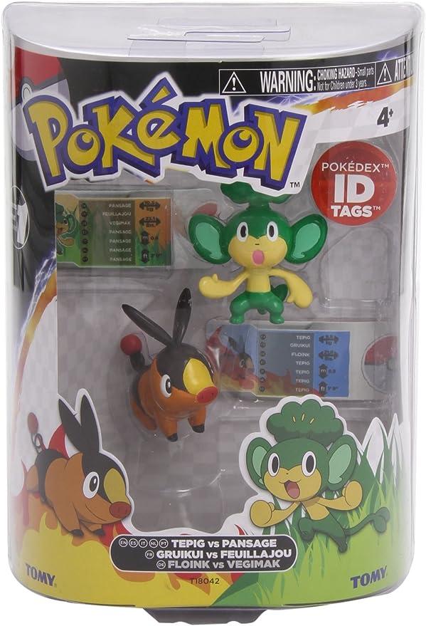 TOMY Pokémon - Pack de 2 Mini Figuras de Batalla (Surtido: Modelos ...