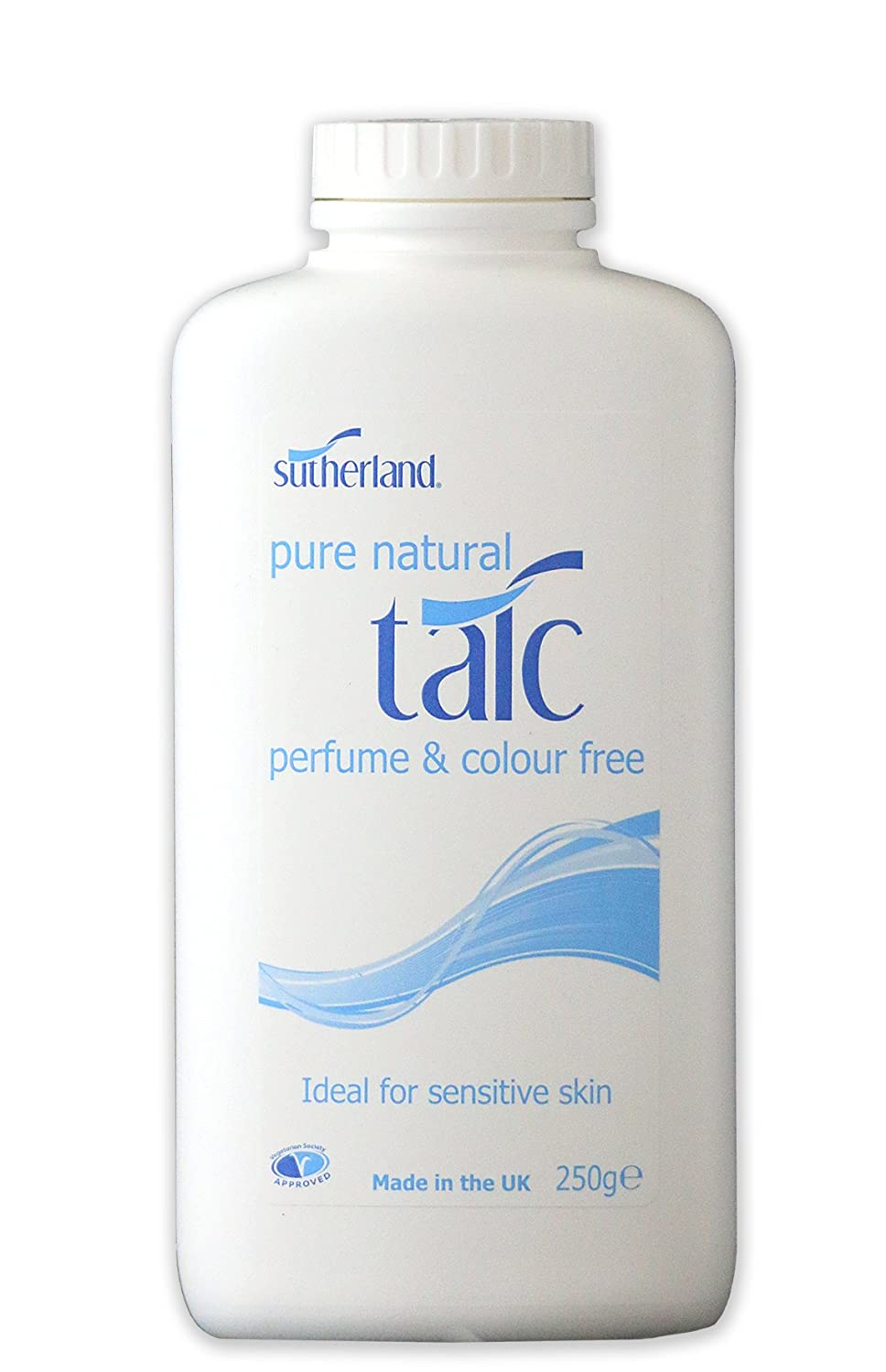 Sutherland Pure Natural Talc 250g 70001805C