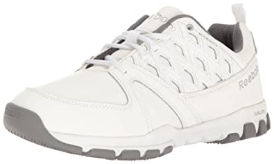 Reebok Work Men's Sublite Work RB4442 Industrial and Construction Shoe,  White, ...