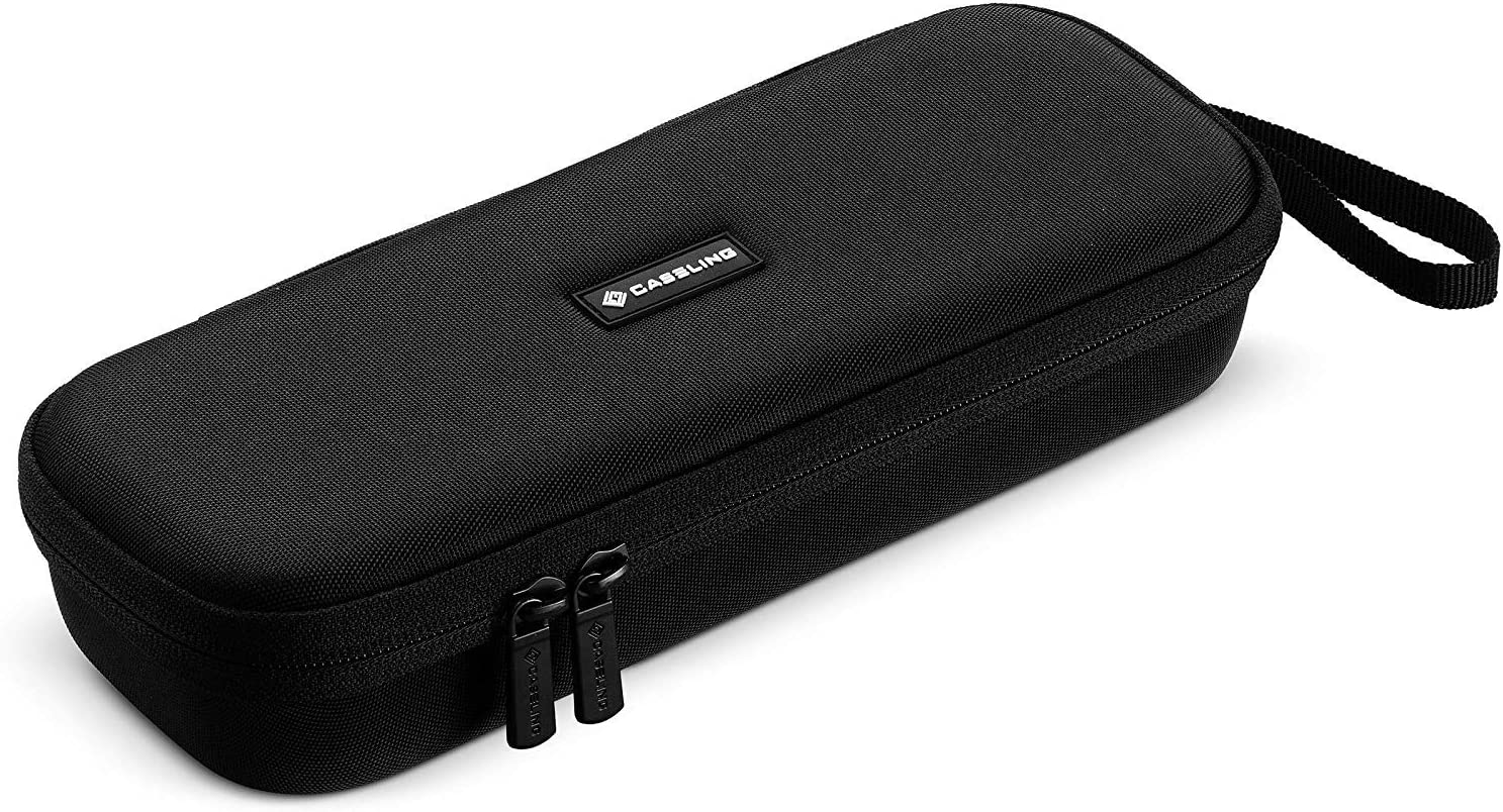 Caseling Hard Case fits Stethoscope 3M Classic III, Lightweight II S.E, Cardiology IV Diagnostic, MDF Acoustica Deluxe Stethoscopes and More. - Includes Mesh Pocket for Accessories