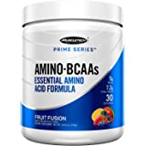 Muscletech Prime Series Bcaa/Eaa Amino Energy Powder, 7.2g Amino Acids Formula with Electrolytes, Fruit Fusion, 30 Servings (295g) - Amazon Exclusive
