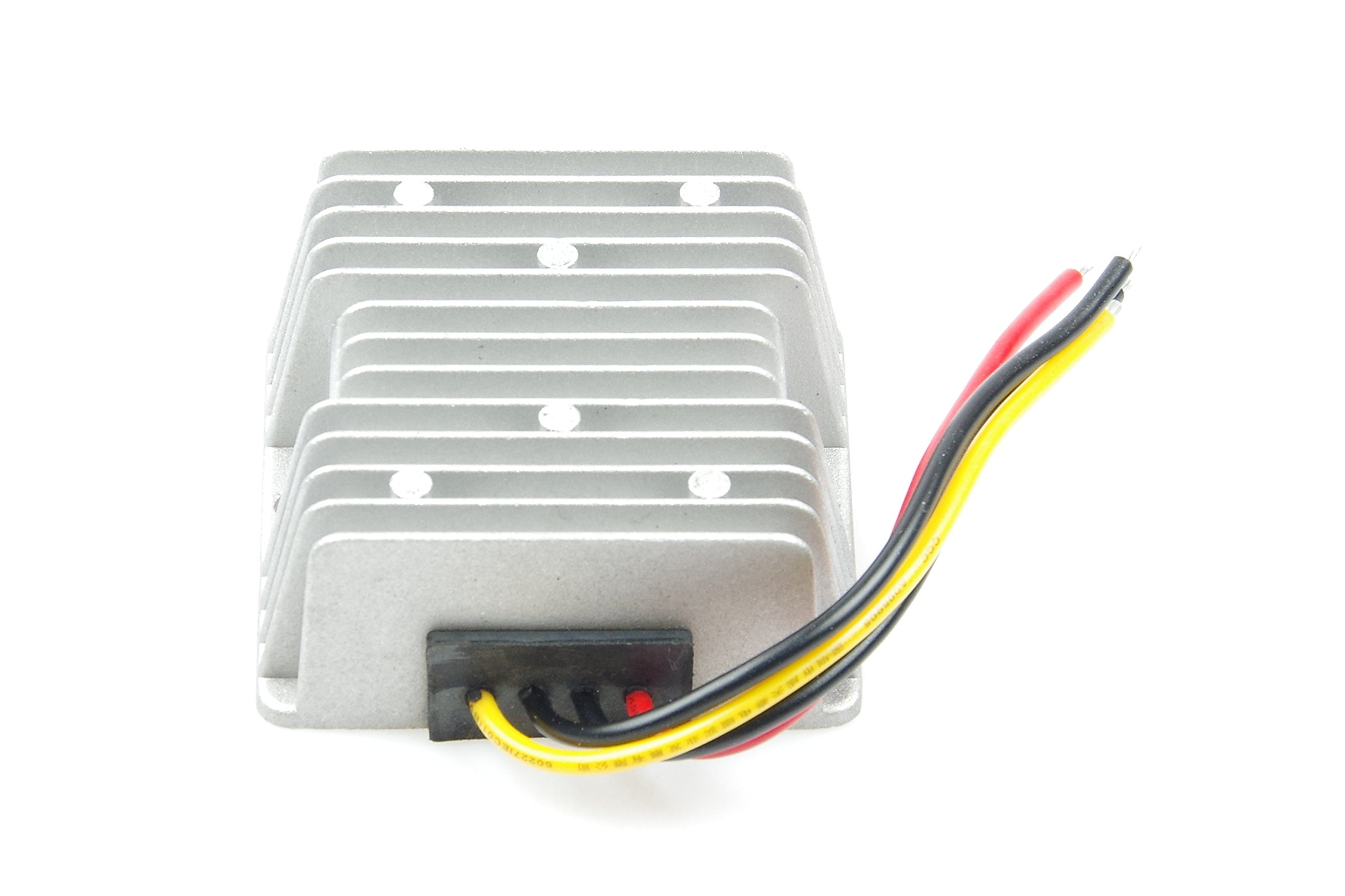 Voltage Converter Regulator DC/DC DC12V 24V 36V (8-40V) Convert to DC 13.8V 8A 110W Buck Transformer Waterproof