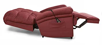 the perfect sleep chair lift chair u0026 medical recliner duralux ii microfiber burgundy