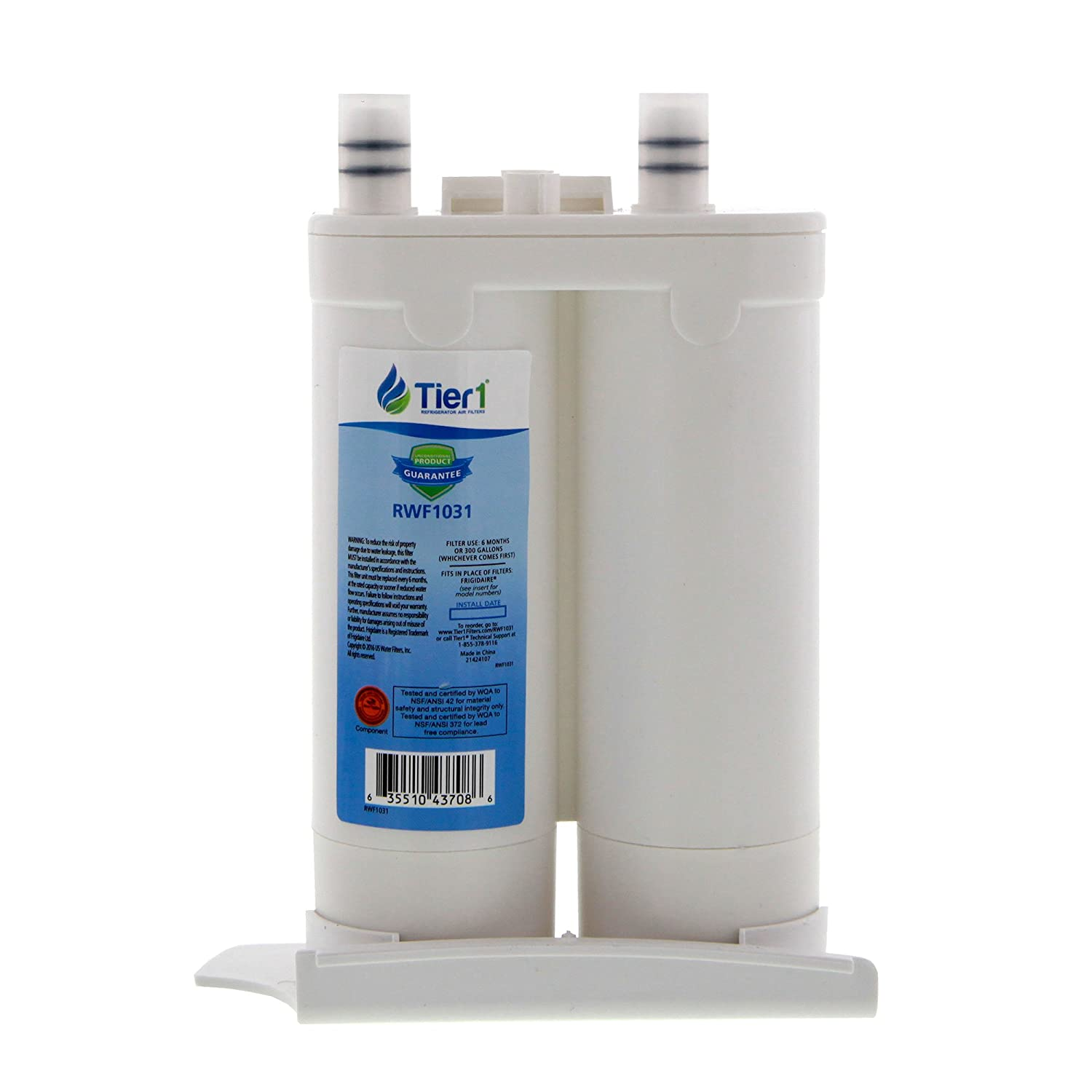 469916 Tier1 Replacement for Frigidaire WF2CB PureSource2 FC 100 Refrigerator Water Filter 3 Pack 469911 NGFC 2000 1004-42-FA