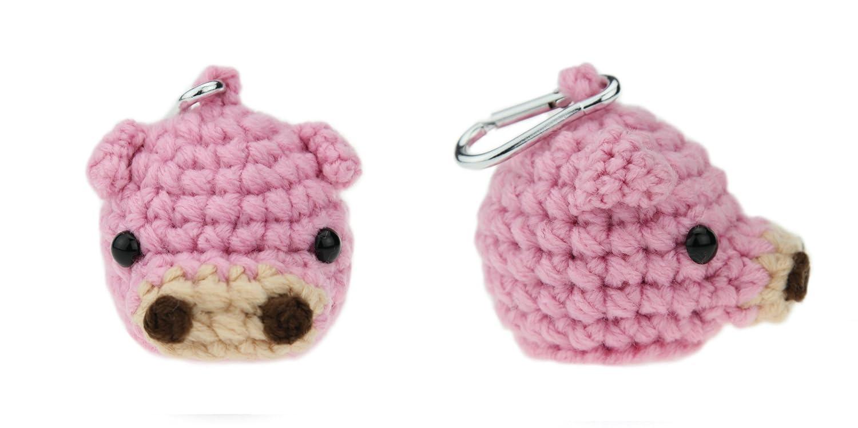 Amazon.com: amimono Pig – Pelota de golf titular, color rosa ...
