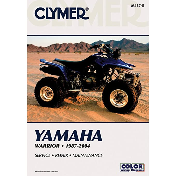 Clymer Repair Manual for Yamaha ATV YFM350 Warrior 87-04 on