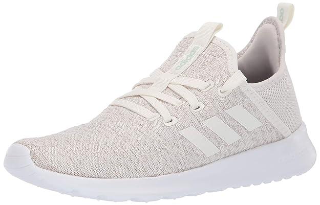 adidas Women's Cloudfoam Pure Running Shoe, Cloud White/Ice Mint, 5 Medium US