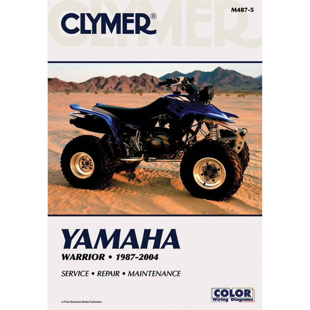 Improved Factory Yamaha Warrior 350 Repair Manual Pro Books 72 Torino Wiring Diagram Clymer For Atv Yfm350 87 04 Product Image