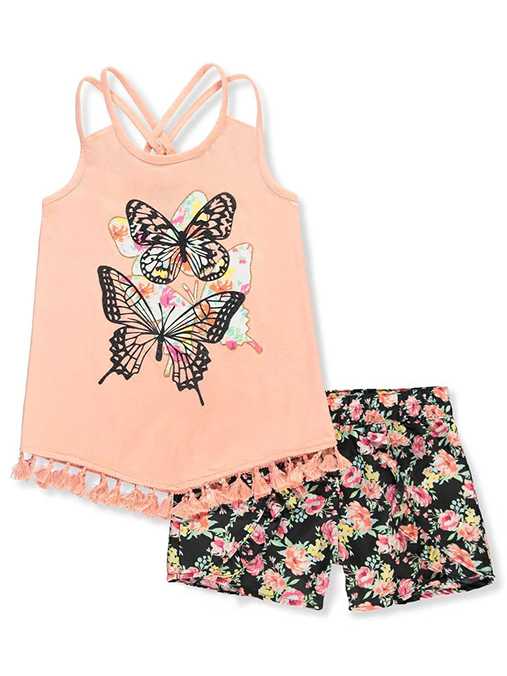 dollhouse Girls' 2-Piece Short Set Outfit 7-8