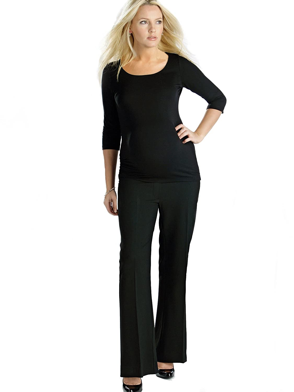 Tailored Maternity Trousers, Over the Bump, Sizes 8-22 (Available in 3 leg lengths), Smart Office Pregnancy Work Pants