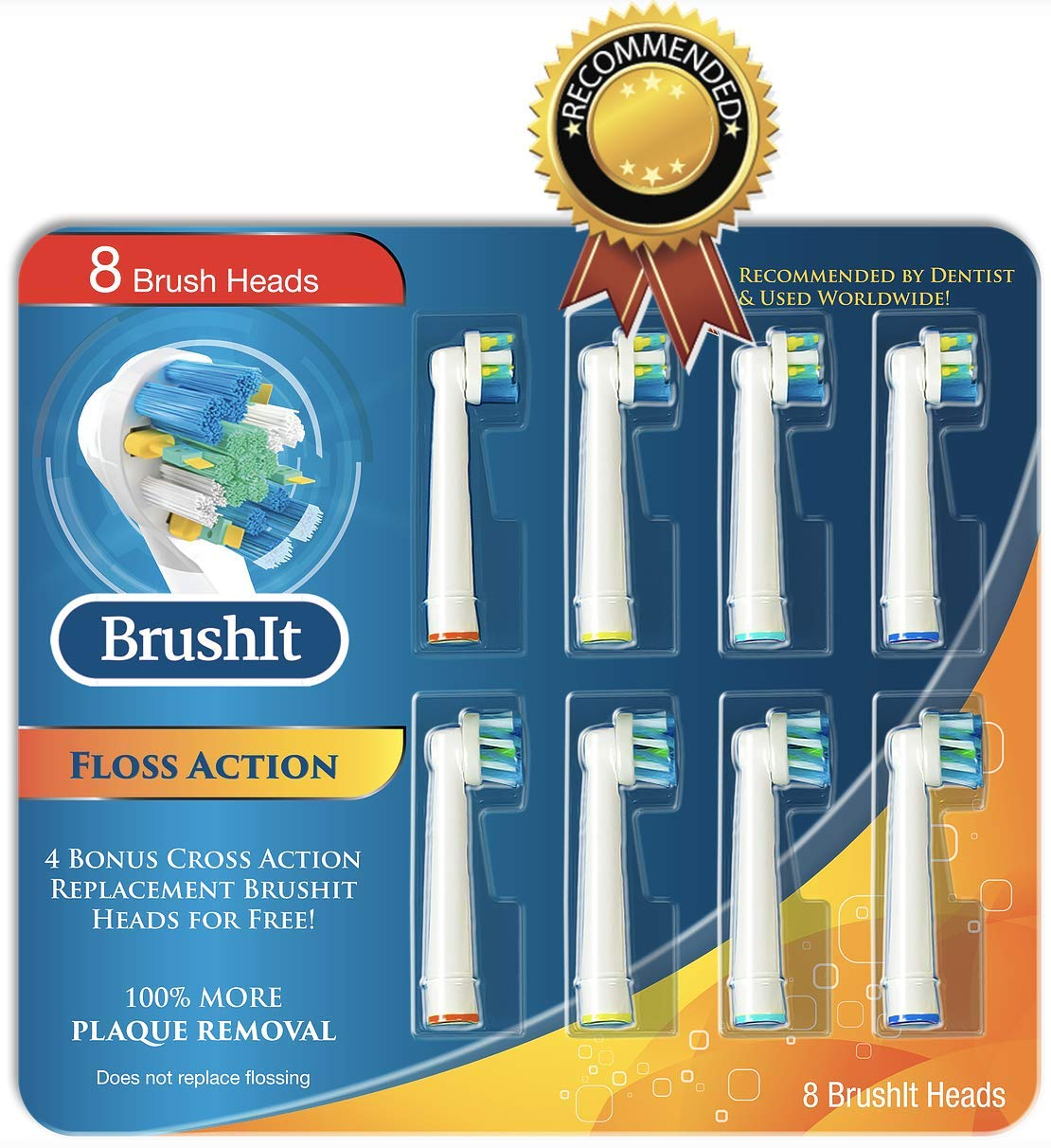 Toothbrush Replacement Brush Heads Refill for