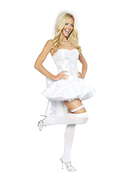 Roma Costume 4 Piece Fantasy Bride Costume