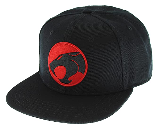ff21d449741 Image Unavailable. Image not available for. Color  Thundercats Classic Logo  Licensed Adjustable Snapback ...
