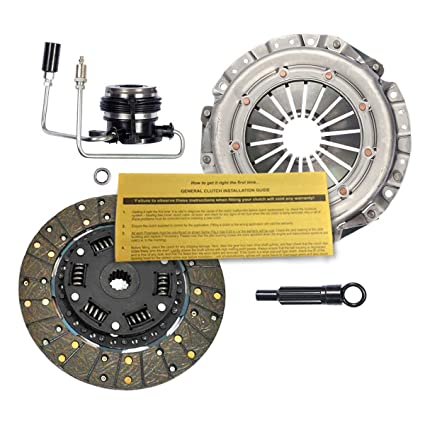 Amazon.com: EFT HD PREMIUM CLUTCH KIT w/ SLAVE CYLINDER for 1987-1992 JEEP COMANCHE 2.5L: Automotive