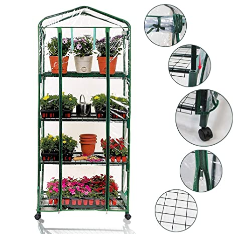 The Single Strategy To Use For Best Choice Products 27x19x63in 4-tier Mini Greenhouse W ...