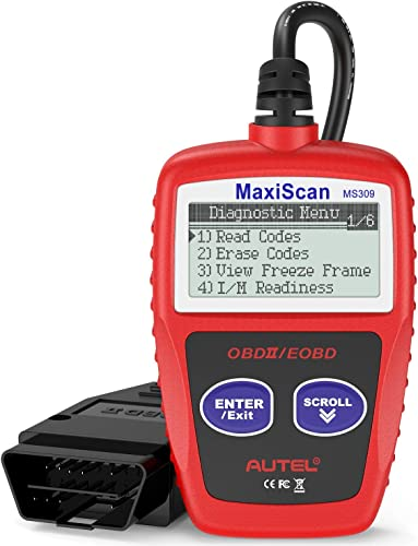 Autel MS309 GM scan tool It is perfect for first-timers, being very user-friendly and intuitive to operate.