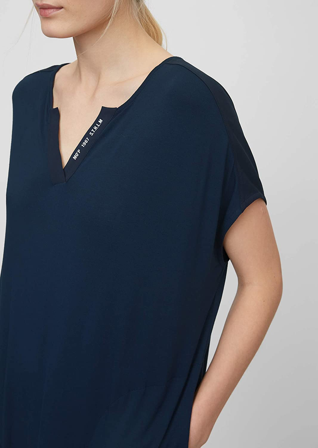 Marc O/'Polo Body /& Beach Damen W-Sleepshirt Crew-Neck Nachthemd