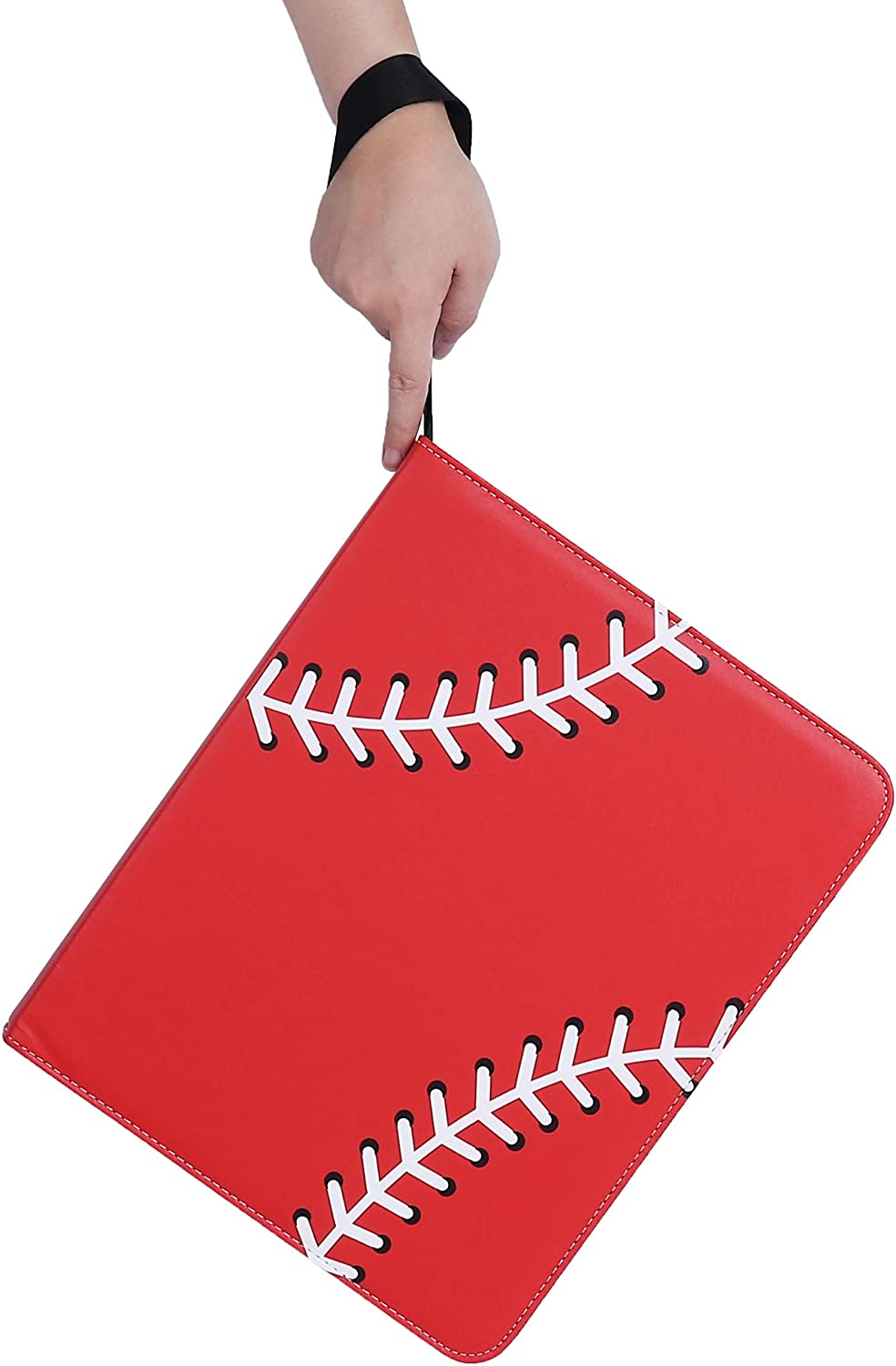 NeatoTek Double Sided 40 Pages 720 Pockets Baseball Card Binder for Baseball Trading Cards Display Case with Baseball Card Sleeves Card Holder Protectors Set for Baseball Card and Sports Card