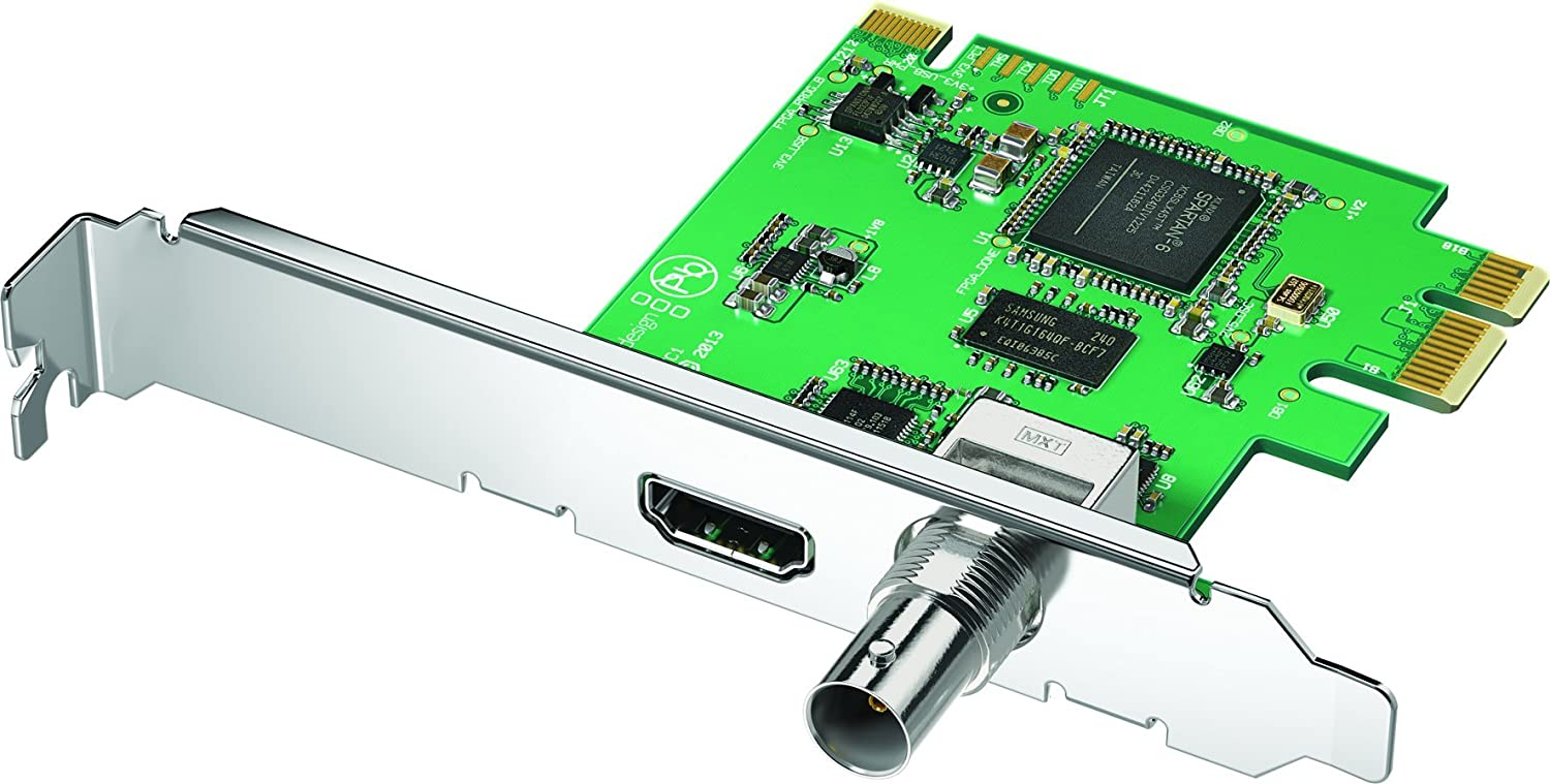 Blackmagic Design DeckLink Mini Recorder, PCIe Capture Card for 3G-SDI and  HDMI